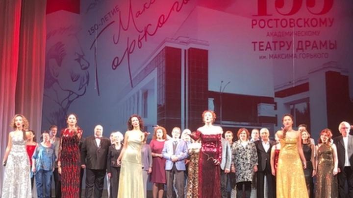 Юбилей: ростовский драмтеатр Горького отмечает 155-й театральный сезон