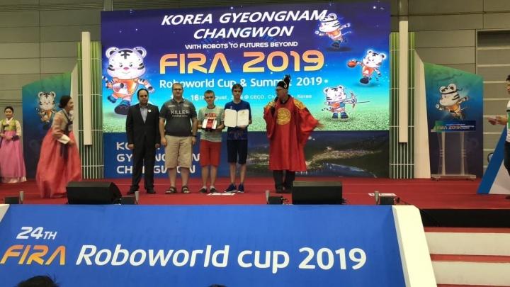Российские «Киллеры» оказались лучшими: робототехники Челябинска взяли медали на чемпионате в Корее