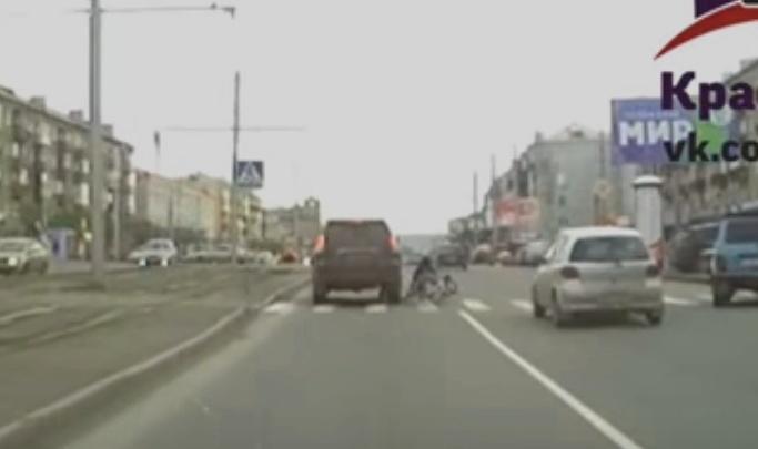 Женщина на «Крузере» сбила мальчика-велосипедиста и вернулась только по требованию очевидцев