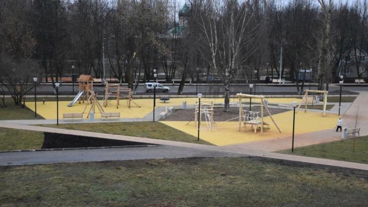 Похожа на детскую площадку: в Ярославской области 72 миллиона потратили на благоустройство площади