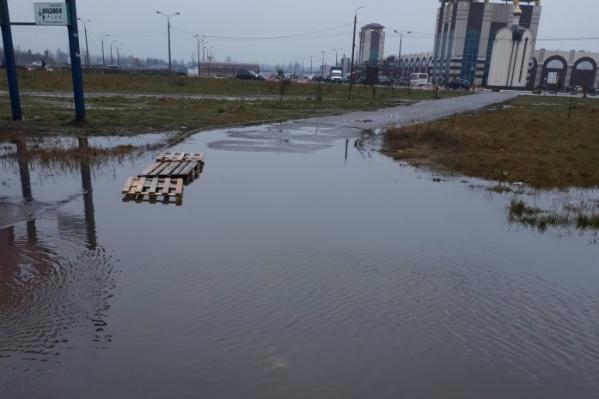 Ярославль затопило ещё до поднятия уровня воды в реках