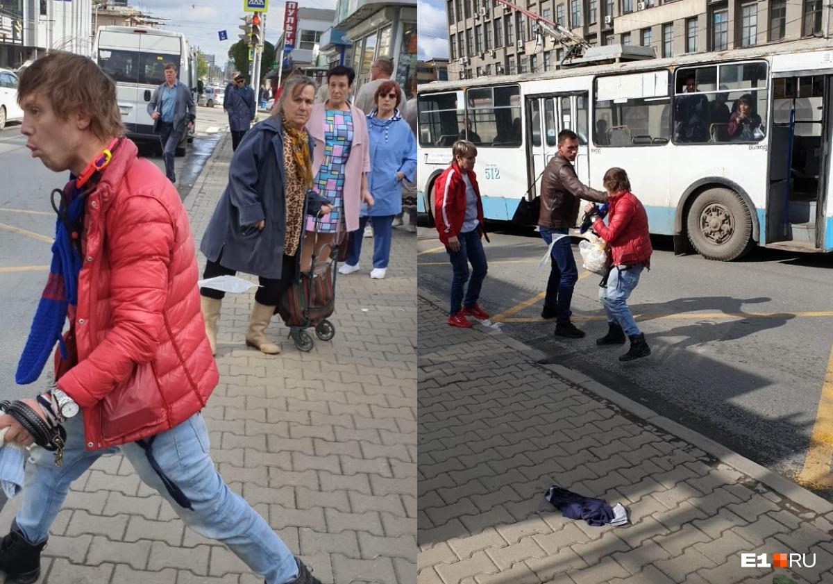 Снимки, сделанные на месте ЧП одним из очевидцев