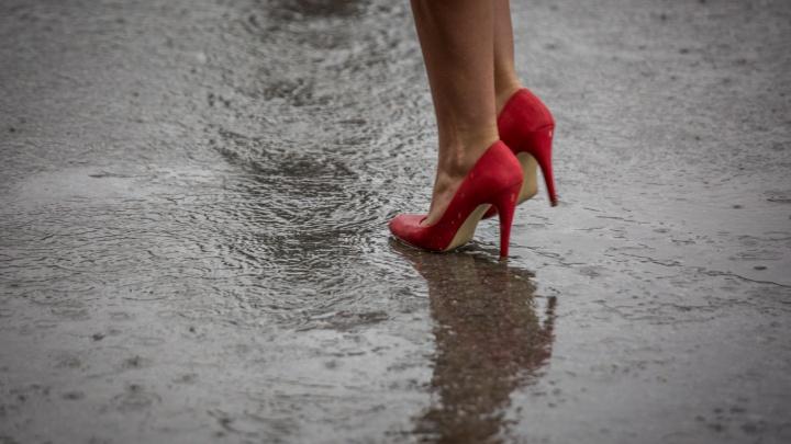 На Новосибирскую область надвигаются дожди