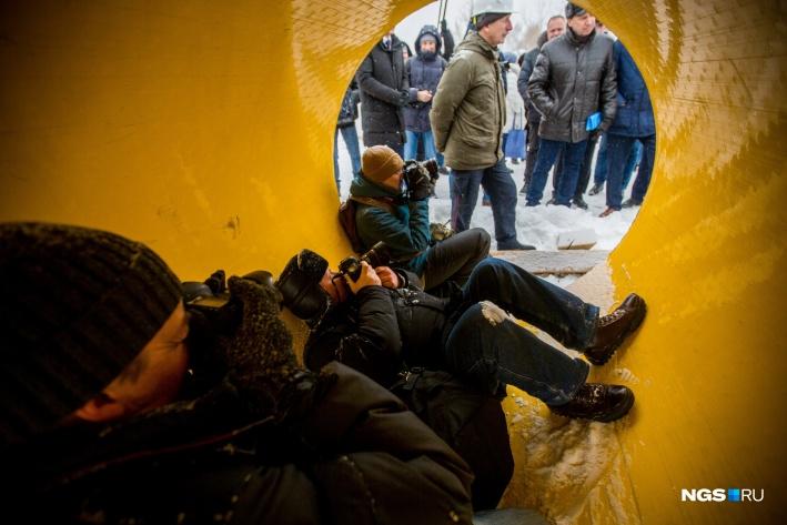 Ливневая канализация будет собирать стоки от площади Маркса