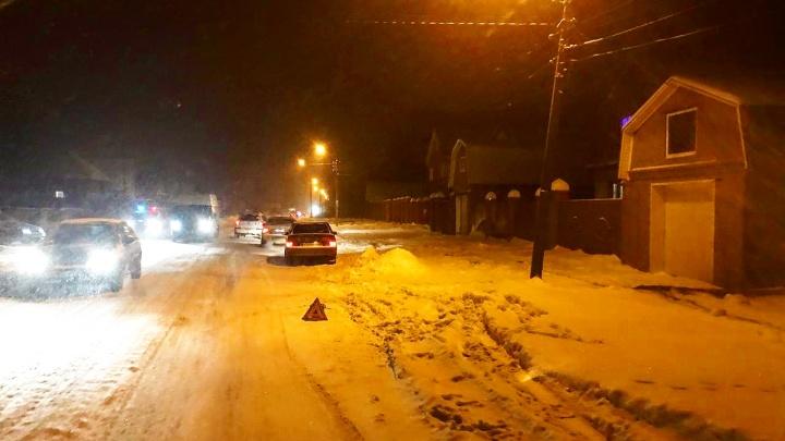 В Уфе водитель на «Ладе» сбил коляску с двухлетним ребенком