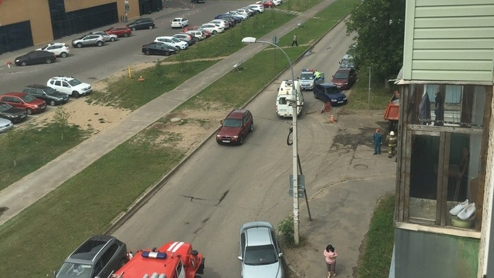 В Ярославской области грузовик сбил женщину