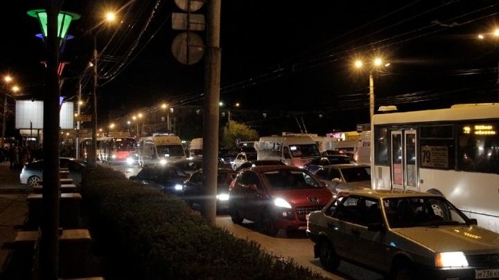 В День Победы из-за салюта перекроют несколько улиц