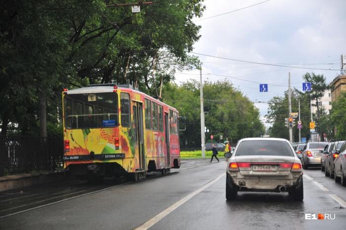 Трамваям запретят ездить по Ленина в День города