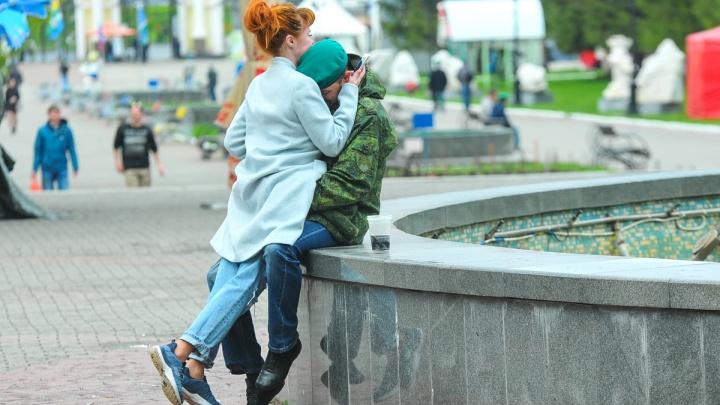 Красиво гулять не запретишь: в парк Маяковского вышли «зелёные береты»