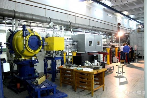 Синхротрон в бункере Института ядерной физики
