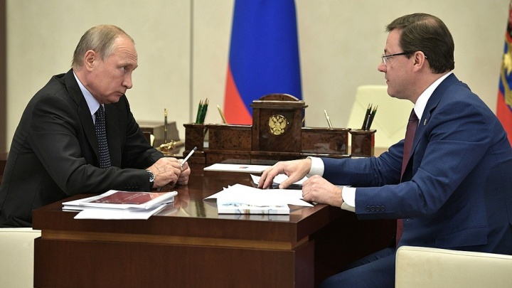 «Было достаточно грустное зрелище»: Путин об историческом центре Самары