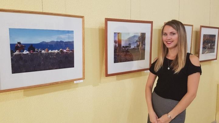 В Кургане открылась выставка фотографа Ксении Майтама, которая два года провела на корабле в океане