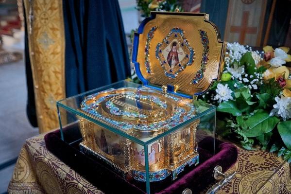 В Поморье святыня пробудет с 19 по 22 ноября, а после отправится в Калининград