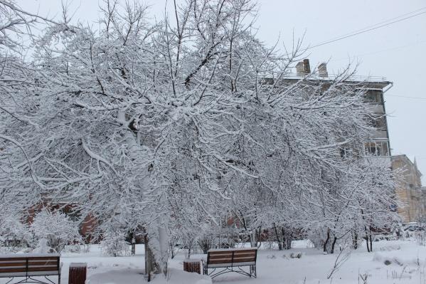В ближайшие дни в городе будут бушевать метели — мокрый снег придёт вместе с циклонами из Средней Азии