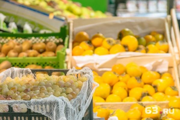 На территории агропарка будут хранить и упаковывать фрукты и овощи