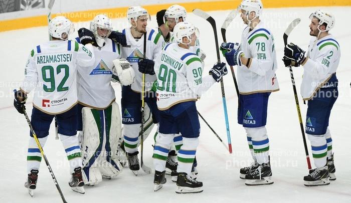 Неудача в Финляндии: «Салават Юлаев» проиграл «Йокериту»