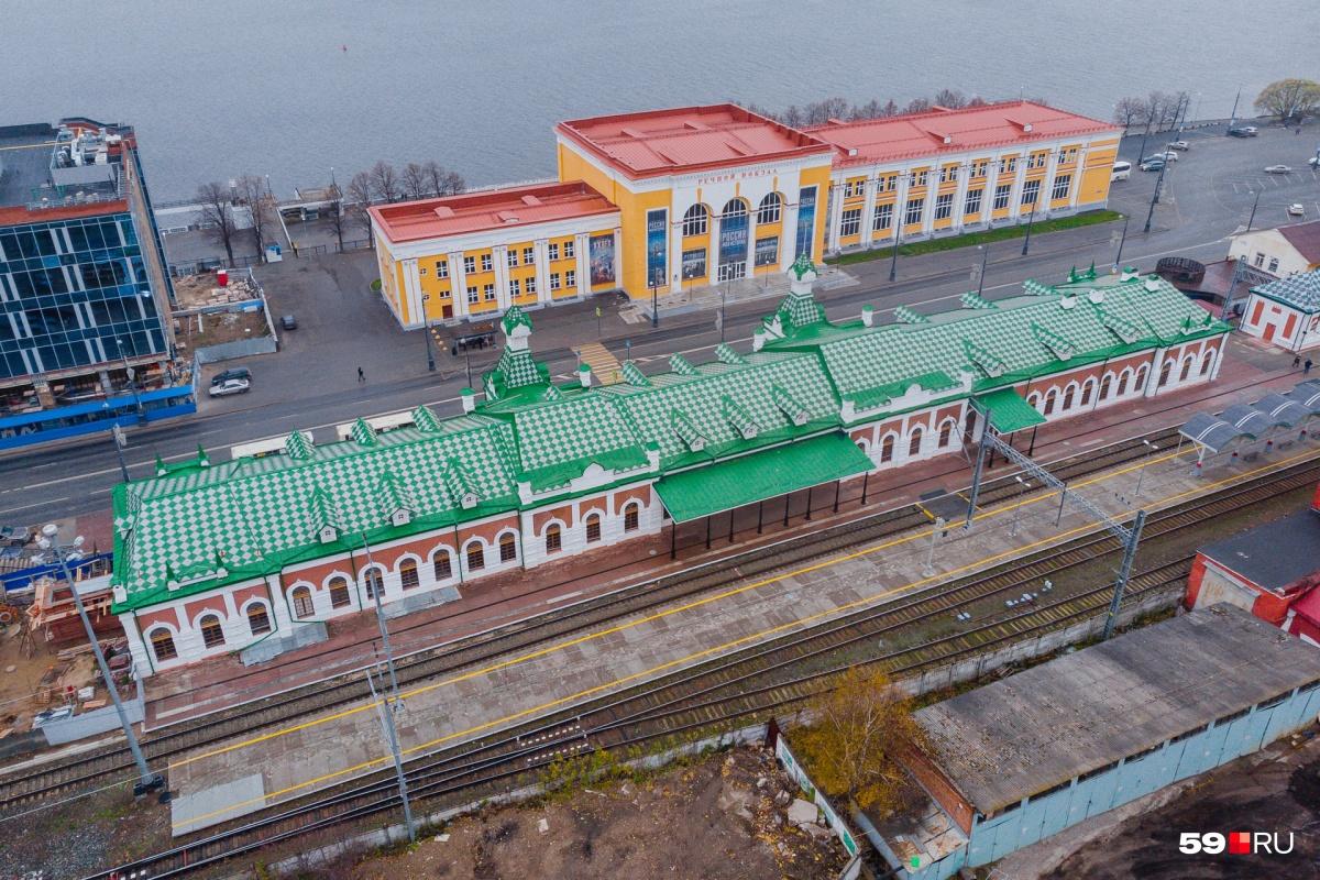Вокзал Пермь I после демонтажа путей перестанет быть вокзалом