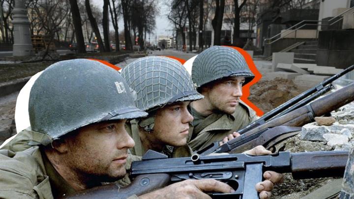Спасти рядового Райана в Екатеринбурге: как город превратился в декорации для военного блокбастера