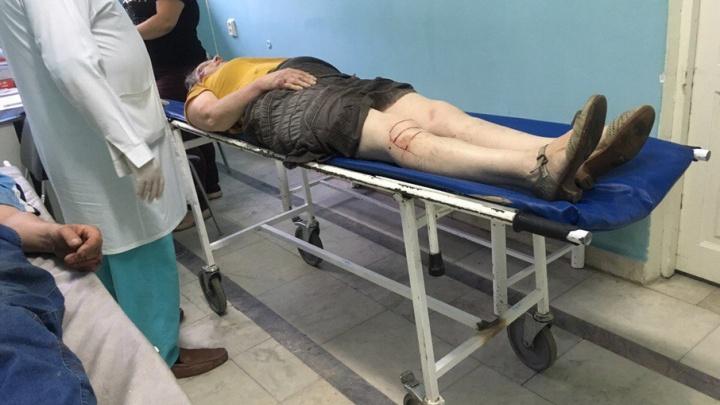 На спуске с Сипайловской в Уфе легковушка сбила женщину