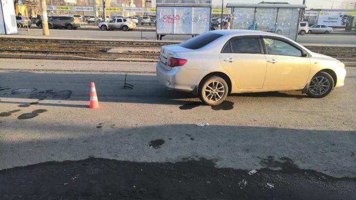 В Самаре водитель «Тойоты» сбил 12-летнего мальчика