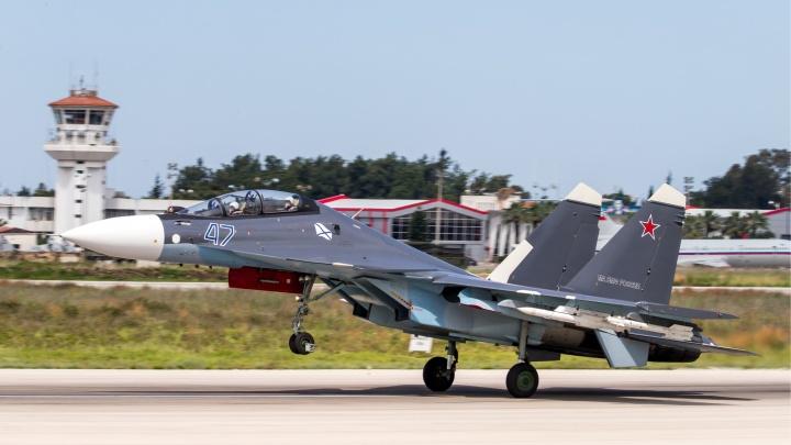 В Сирии потерпел крушение российский истребитель, двое пилотов погибли