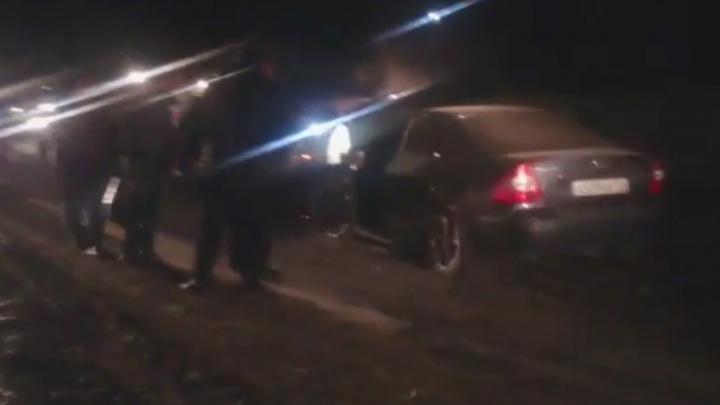 В Свердловской области водитель иномарки устроил смертельную аварию, удирая от ГИБДД