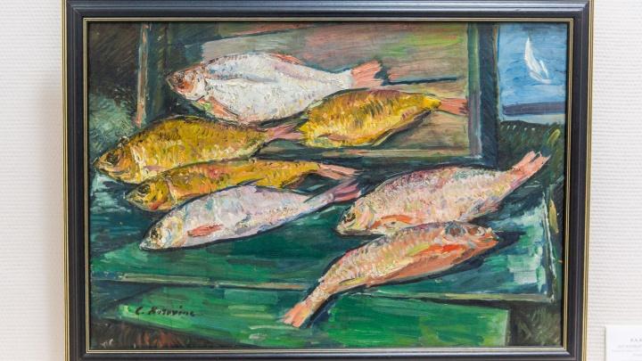 В Новосибирск привезли картины Коровина и Бродского