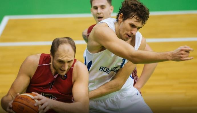 И снова поражение:БК «Новосибирск» проиграл гостям из Москвы
