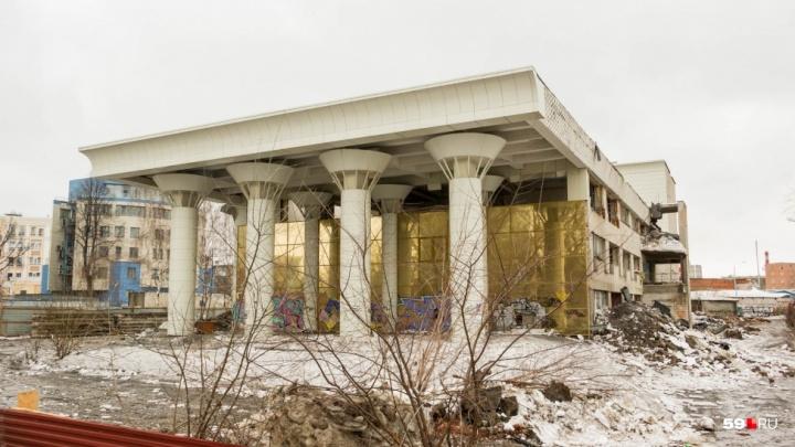 В Перми на участке под ДК «Телта» планируют увеличить высотность застройки с 20 до 52 метров