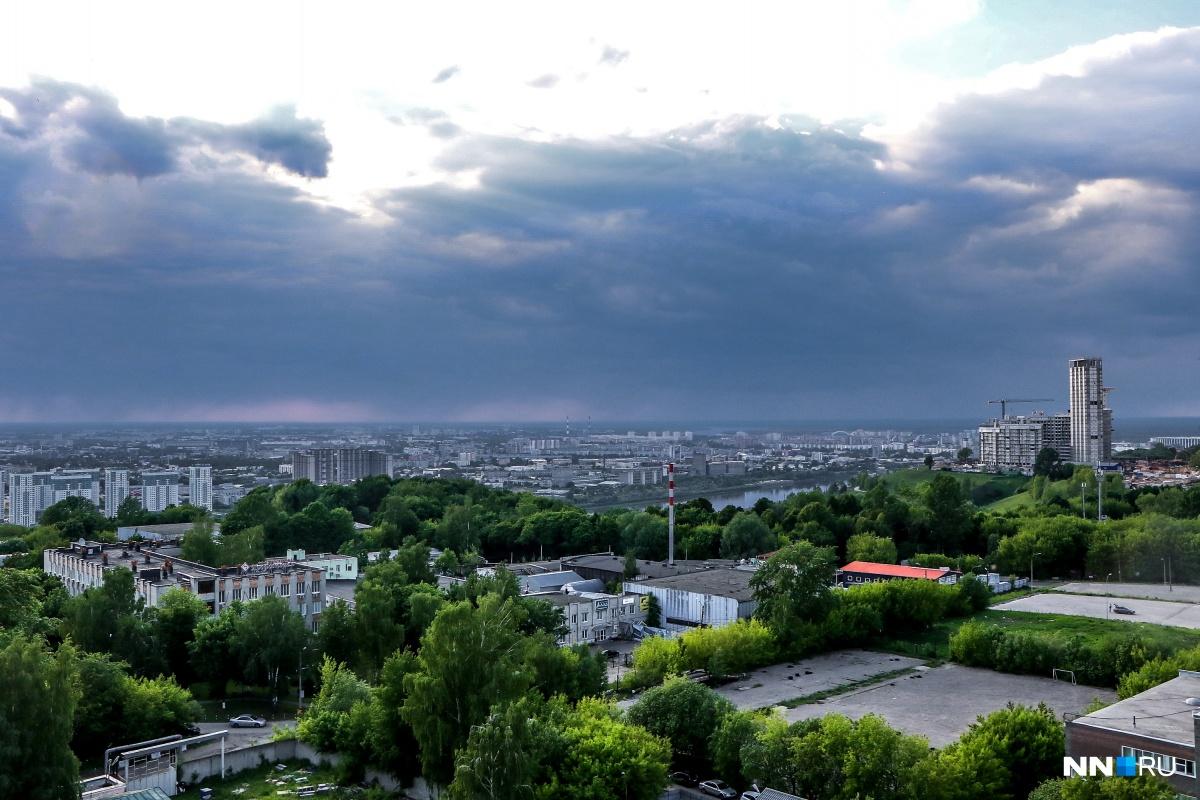 Гроза над Нижний Новгородом