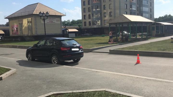 На Белинского водительHyundai сбила 7-летнего мальчика
