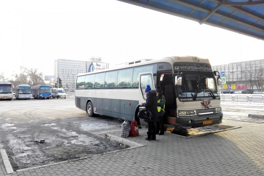 Посадка и высадка пассажиров в Челябинске будет разрешена только на автовокзалах