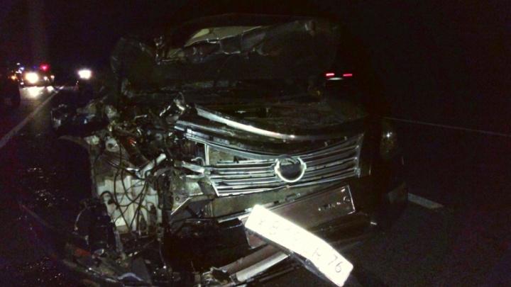 В ДТП в Ярославской области пострадали мама с ребёнком