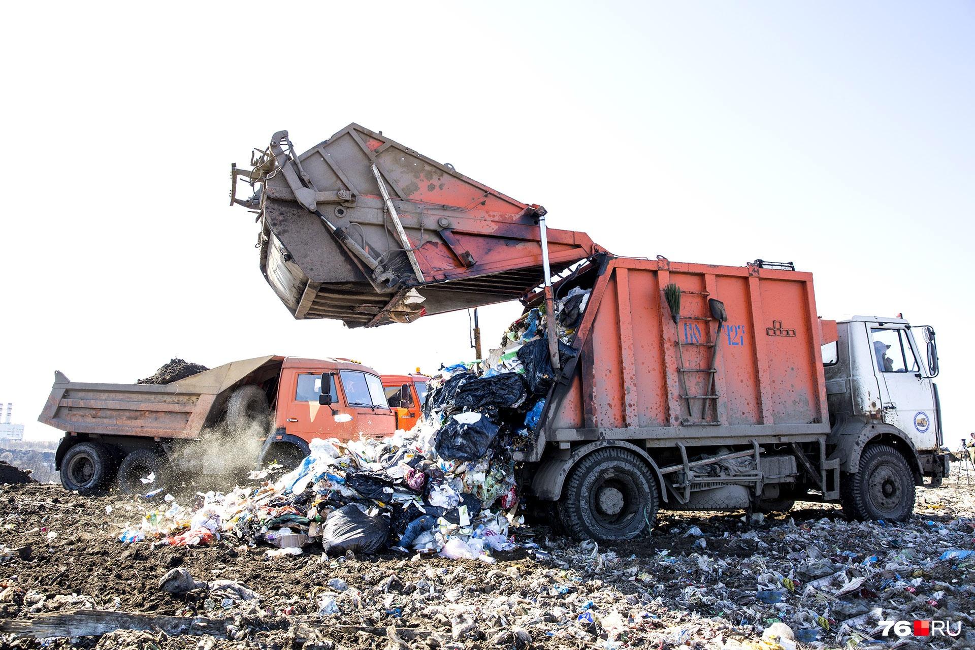 Власти поддержат материально региональных операторов по вывозу мусора