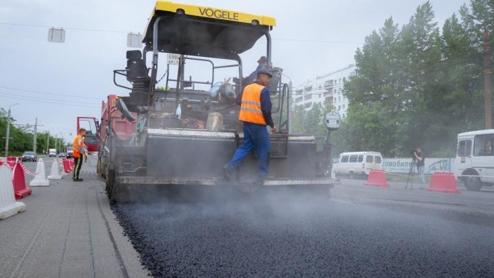 Дорогу на участке по проспекту Победы ограничат для транспорта до конца июля