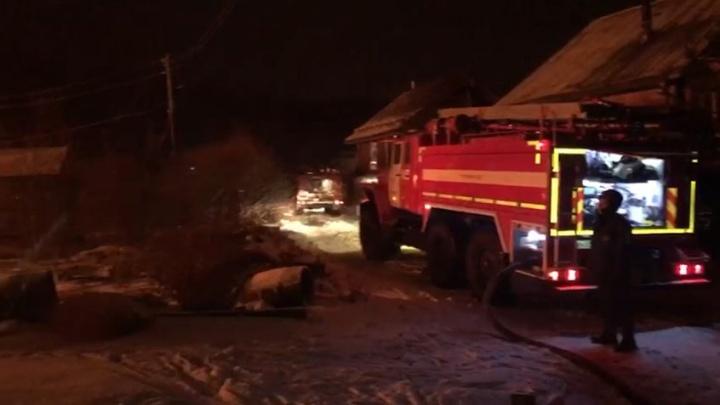 «Рассматривается не только версия поджога»: на Московском тракте опять сгорел дом