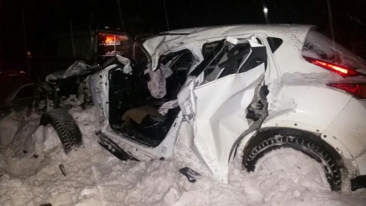 В Котласском районе в ДТП погибла женщина