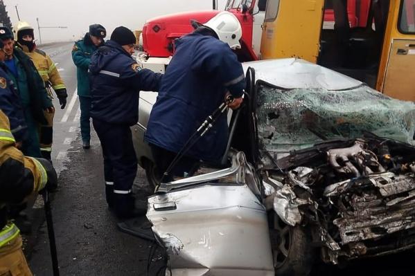 ДТП произошло на трассе Ростов — Волгодонск