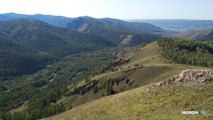 У Торгашинского хребта хотят создать памятник природы