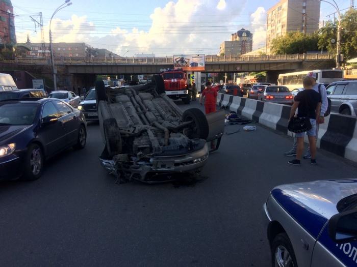 Авария обошлась без пострадавших