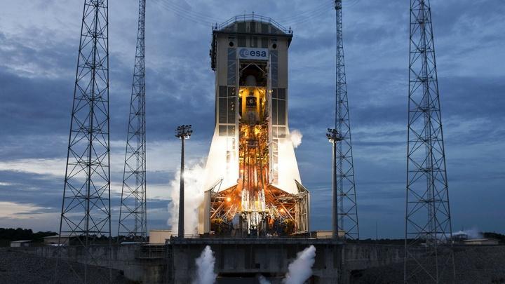 Самарская ракета вывела на орбиту французский спутник