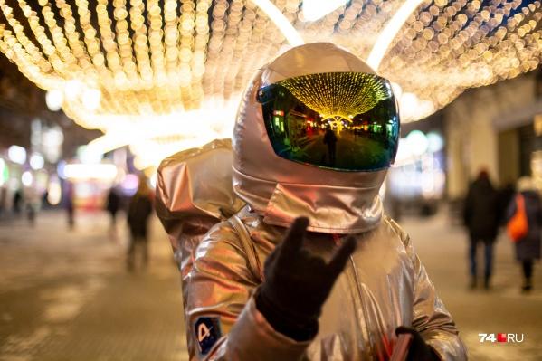 Предновогодний Челябинск — это просто космос!