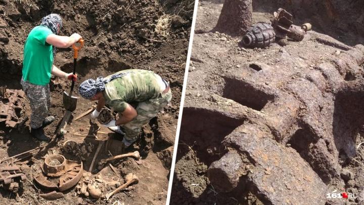 Экипаж танка, найденного в Ростовской области, похоронят на Аллее Славы