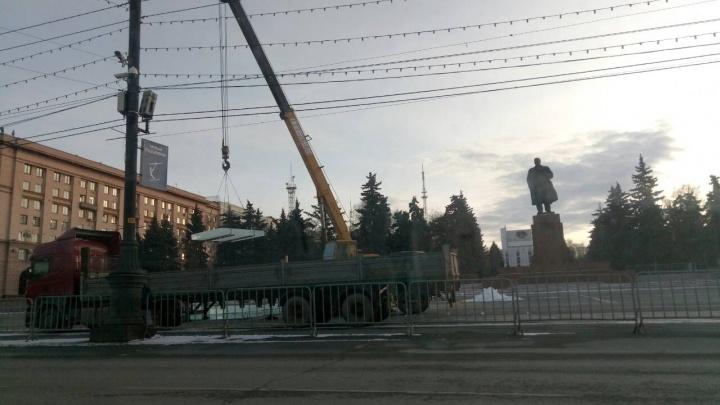 Ледовый городок в Челябинске подешевел на три миллиона рублей