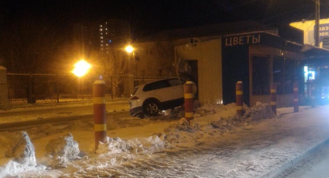 Водитель автомобиля был пьян