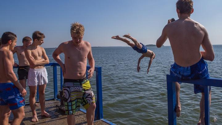 Август принесет новосибирцам летнюю жару в 31 градус