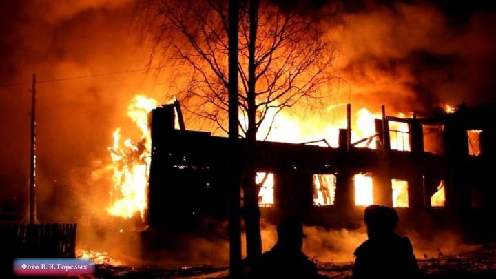 Недавно вышел из тюрьмы: полицейские задержали мужчину, устроившего крупный пожар в поселке Ис