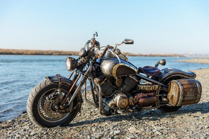Процесс создания индивидуализированных мотоциклов называется кастомизацией