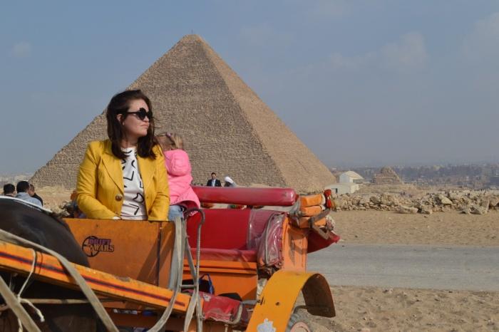 Вероника живёт с дочкой в Египте третий год