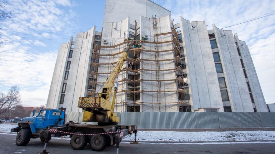 В разгар новогодних представлений в Челябинском театре драмы начали масштабный капремонт